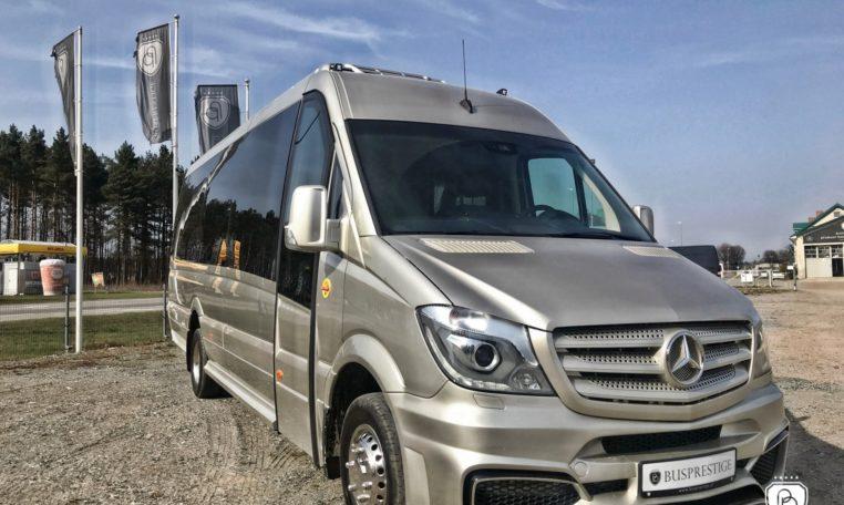 Mercedes-Benz Sprinter 519 XL/ BP Tourist 19+1+1 Limited