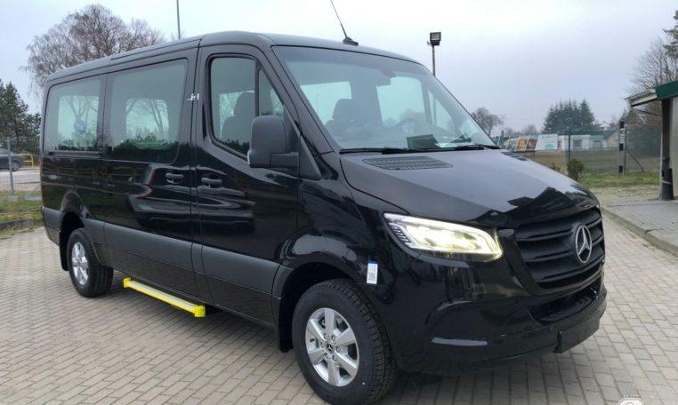 Mercedes Bus Van >> Mercedes Benz Sprinter 316 Bp Taxi Van 8 1 Bp 323 Busprestige