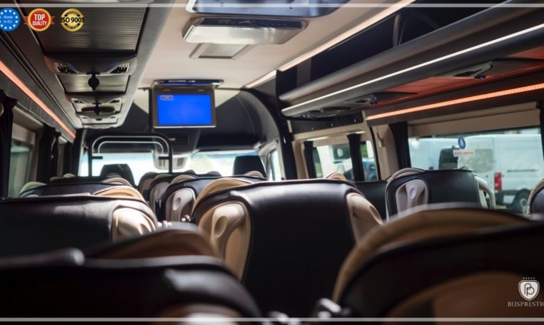 Mercedes Luxury Sprinter Bus Inside View