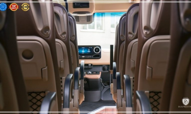 Mercedes Luxury Sprinter Bus view