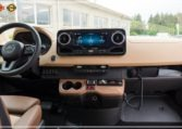 Bus prestige luxury dashboard panel