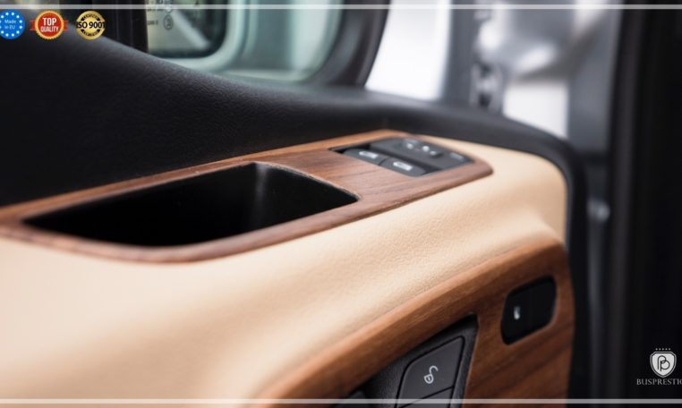 Mercedes Luxury Sprinter Bus Wood Panels
