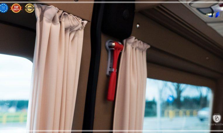 Mercedes-Benz Sprinter 319 Limo Van made by Busprestige safety hammer
