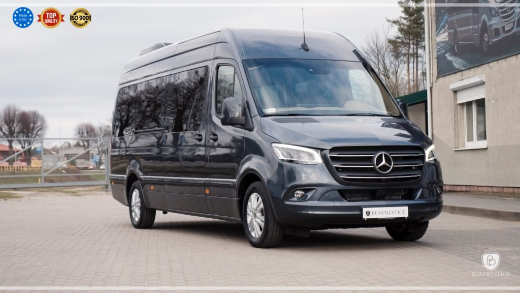 Mercedes-Benz Sprinter 319 Limo Van made by Busprestige graphite color