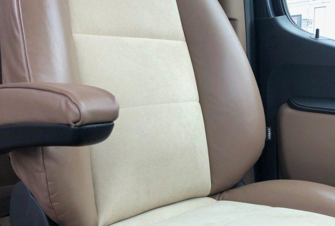 Mercedes-Benz Sprinter 319 Limo Van made by Busprestige driver seat luxury