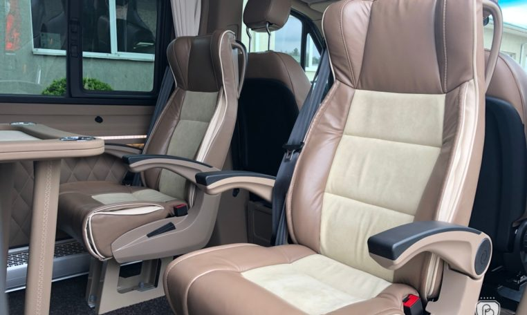 Mercedes-Benz Sprinter 319 Limo Van made by Busprestige leather seats