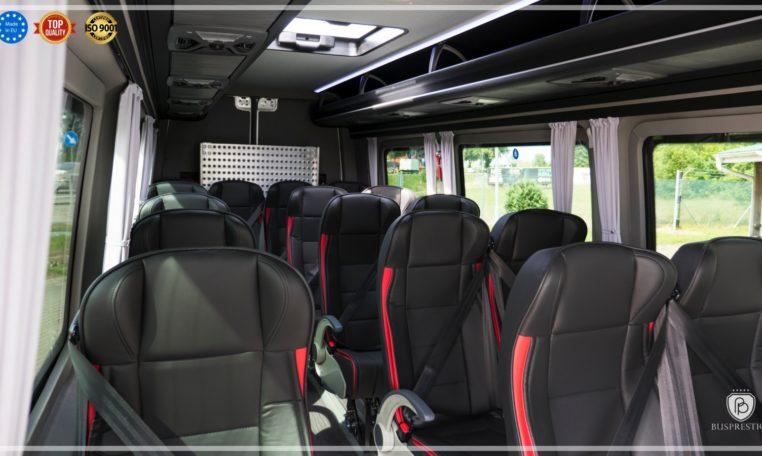 Mercedes Sprinter Bus made by Busprestige exit