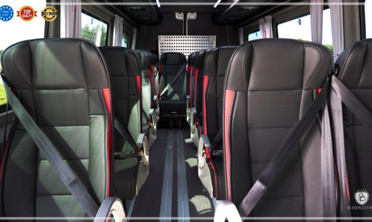 Mercedes Sprinter Bus made by Busprestige interior view