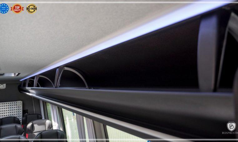 Mercedes Sprinter Bus made by Busprestige head luggage