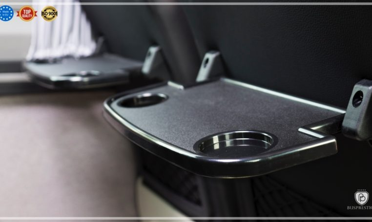 Mercedes Sprinter Bus made by Busprestige seat table