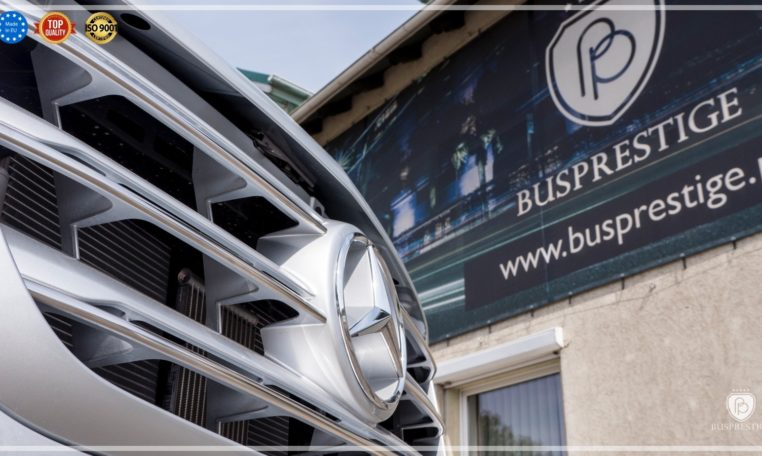 Mercedes Sprinter Bus made by Busprestige front grill