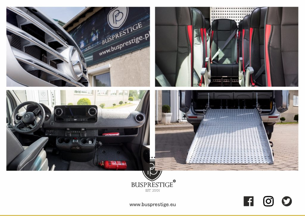 Mercedes Sprinter Bus made by Busprestige Wheelchair Edition