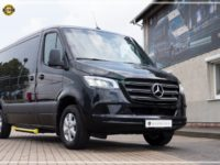 Mercedes-Benz Sprinter Luxury Van made by Busprestige M1 class front view