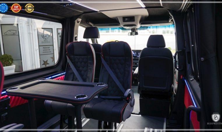 Mercedes-Benz Sprinter Luxury Van made by Busprestige M1 single seat