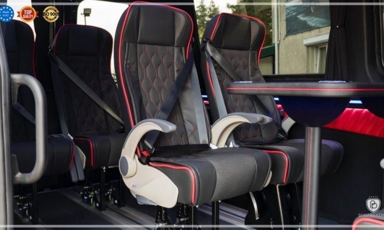 Mercedes-Benz Sprinter Luxury Van made by Busprestige intap seat
