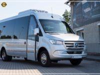 Mercedes-Benz Sprinter Luxury Bus made by Busprestige side view