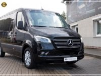 Mercedes-Benz Sprinter Luxury Van made by Busprestige 9 pax black edition