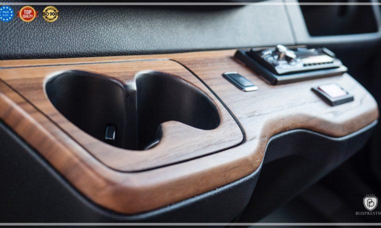 Mercedes-Benz Sprinter Luxury Van made by Busprestige luxury cup holder