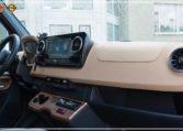 Mercedes-Benz Sprinter Luxury Van made by Busprestige driver luxury set