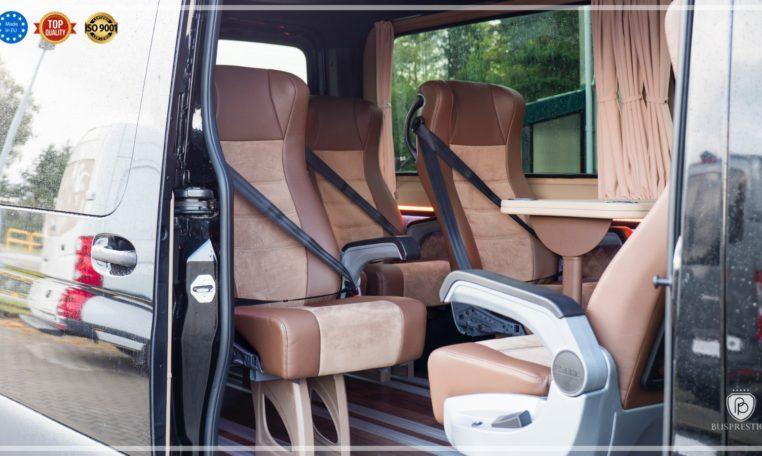 Mercedes-Benz Sprinter Luxury Van made by Busprestige 9 passengers seat