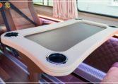 Mercedes-Benz Sprinter Luxury Van made by Busprestige passenger table