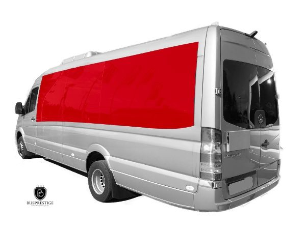 Mercedes-Benz Sprinter side windows