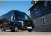 Mercedes-Benz Sprinter Bus 19 pax made by Busprestige luxury interior design limited edition black color