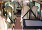 Mercedes-Benz Sprinter Bus 19 pax made by Busprestige luxury interior design interior view