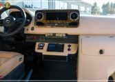 Mercedes-Benz Sprinter Bus 19 pax made by Busprestige luxury interior design driver dashboard