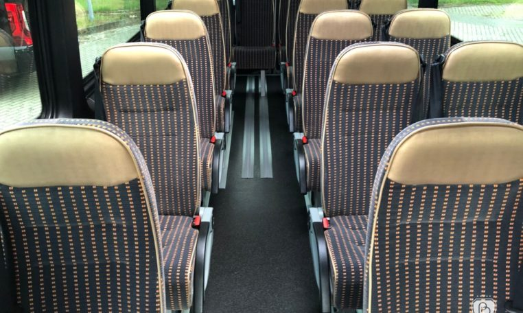 mercedes bus urban edition with seats gold edition