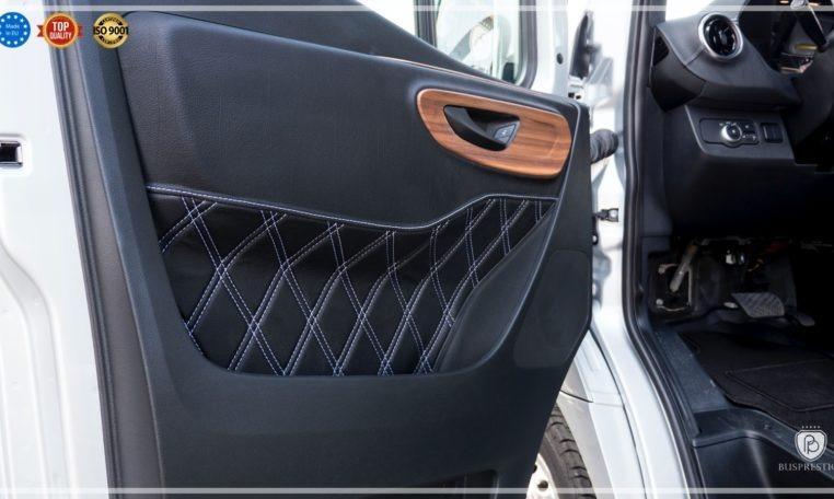 mercedes bus luxury door sawing