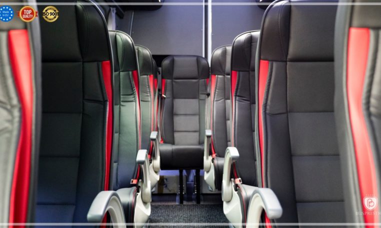 mercedes bus seat arms