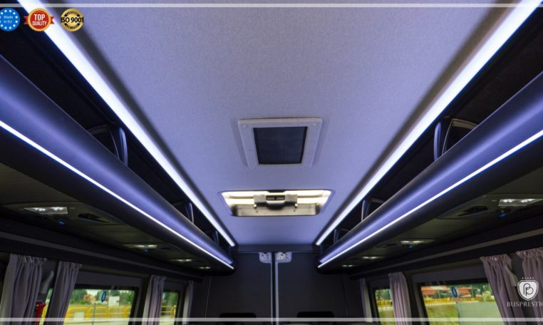 mercedes bus roof view