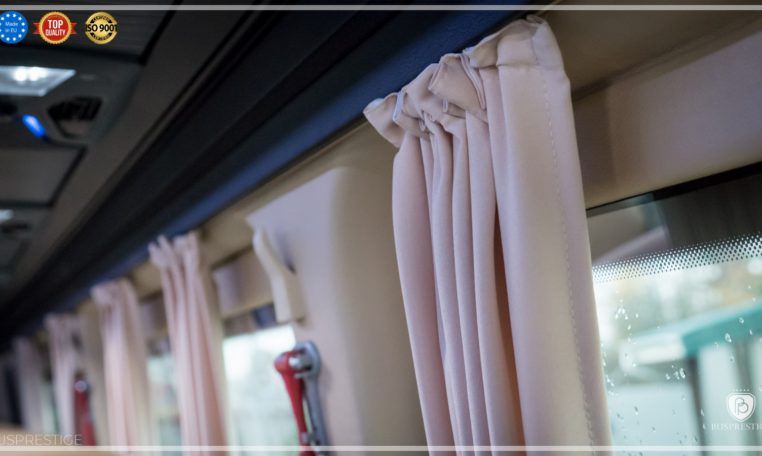 mercedes bus side curtains