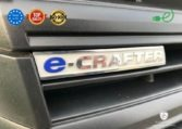 VW e-Crafter 35 electric bus made by Buspresitge e-crafter label