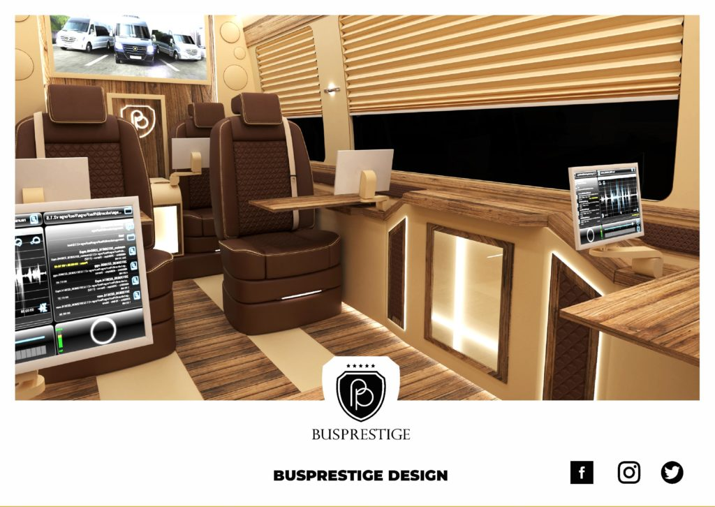 Busprestige Design Luxury Sprinter Van Interior