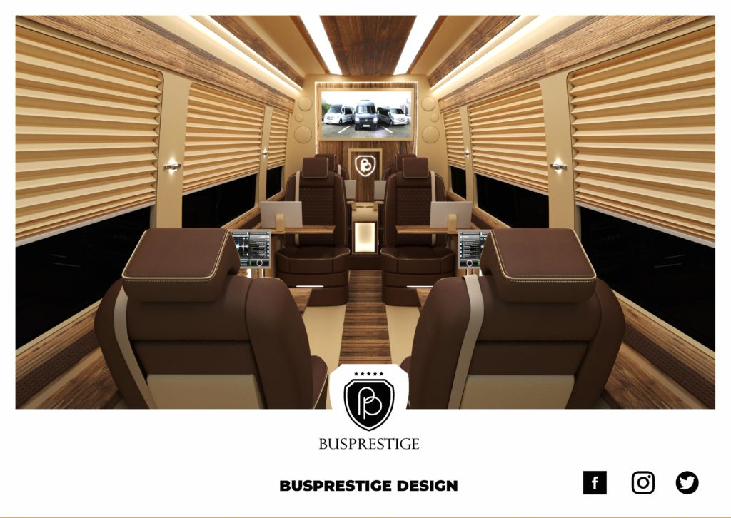 Busprestige Design Luxury Sprinter Van