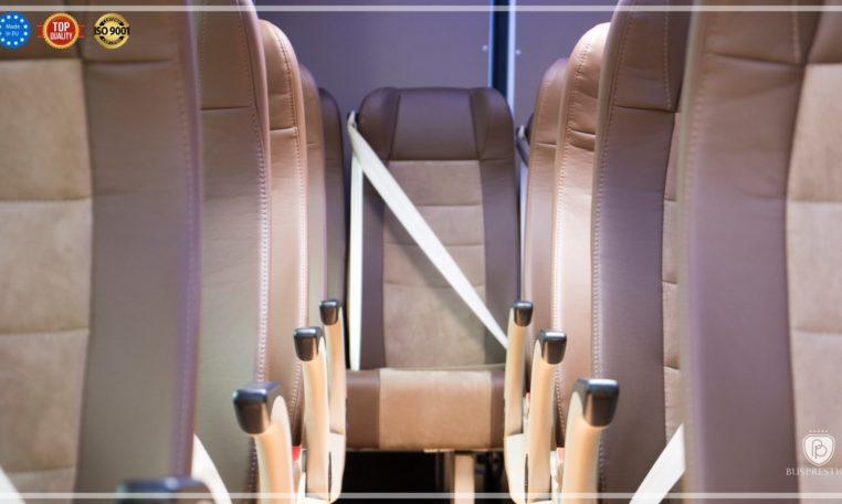 Mercedes Luxury Sprinter Bus Seat View