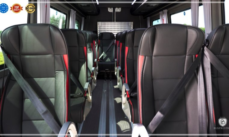 Mercedes Sprinter Bus made by Busprestige interior view