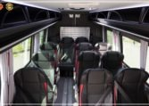 Mercedes Sprinter Bus made by Busprestige inside view