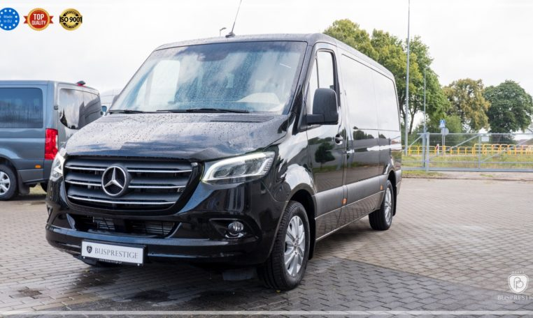 Mercedes-Benz Sprinter Luxury Van made by Busprestige led performance