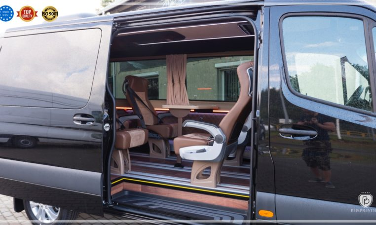 Mercedes-Benz Sprinter Luxury Van made by Busprestige 9 pax vehicle