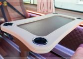 Mercedes-Benz Sprinter Luxury Van made by Busprestige passenger table