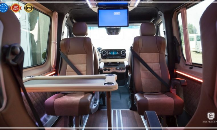 Mercedes-Benz Sprinter Luxury Van made by Busprestige passenger seat