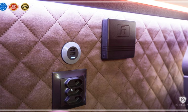 Mercedes-Benz Sprinter Luxury Van made by Busprestige usb socket