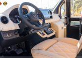Mercedes-Benz Sprinter Bus 19 pax made by Busprestige luxury interior design driver view
