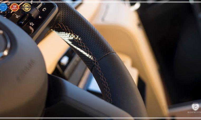 Mercedes-Benz Sprinter Bus 19 pax made by Busprestige luxury interior design steering wheel