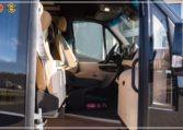 Mercedes-Benz Sprinter Bus 19 pax made by Busprestige luxury interior design bus entry powered