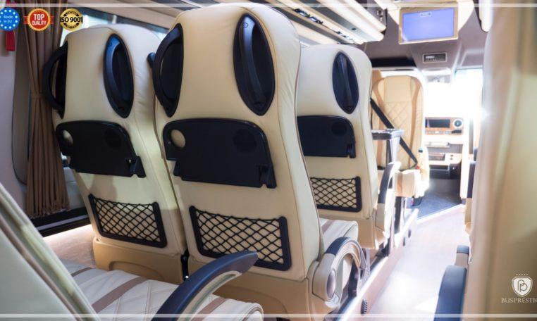 Mercedes-Benz Sprinter Bus 19 pax made by Busprestige luxury interior design