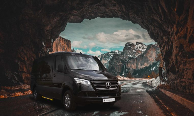 Mercedes Sprinter luxury van in version BP.Business Van made by Busprestige